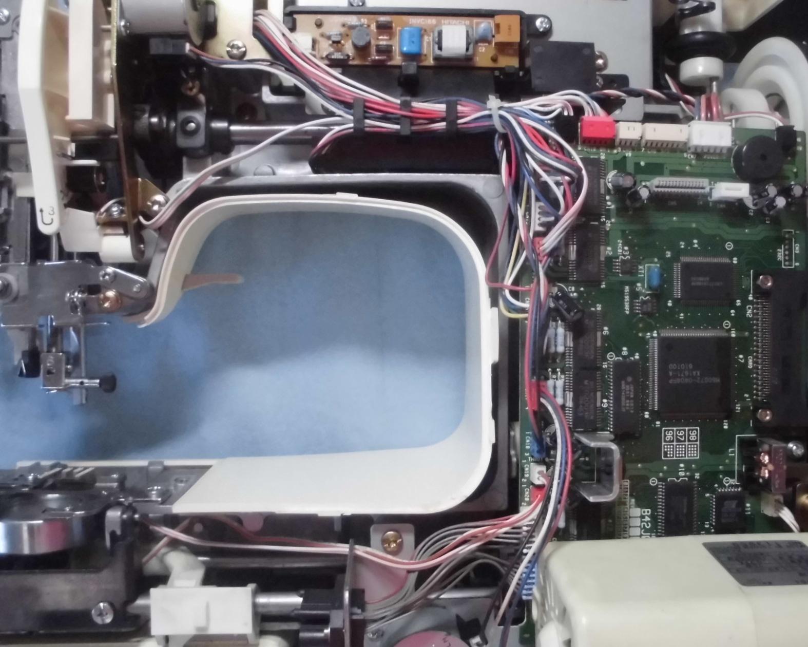 M-7000 ZZ3-B980の分解オーバーホールメンテナンス修理 ブラザーミシン