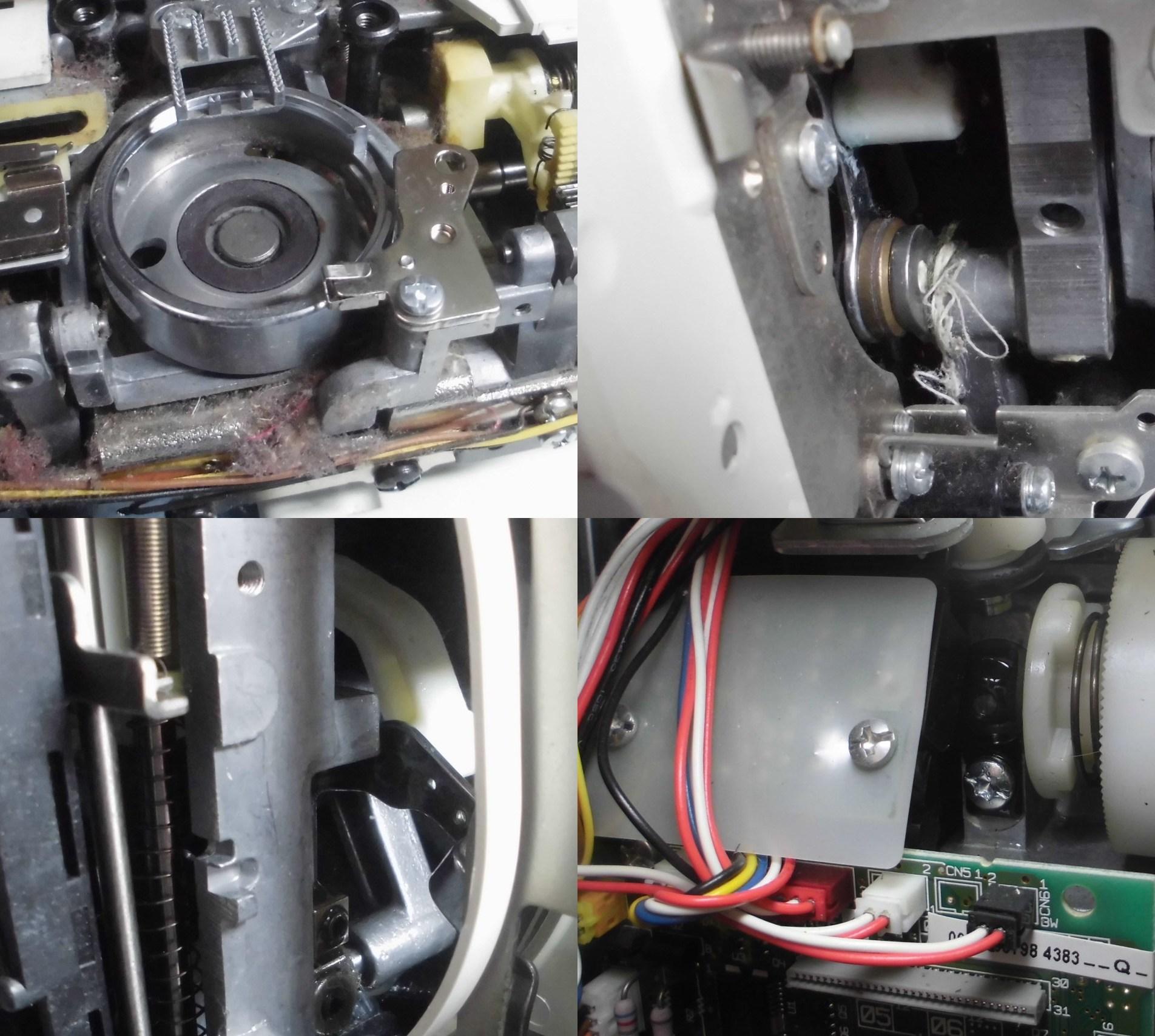 ブラザーミシンPC-8000の故障や不具合|動かない、縫えない、固着、エラー、糸調子不良