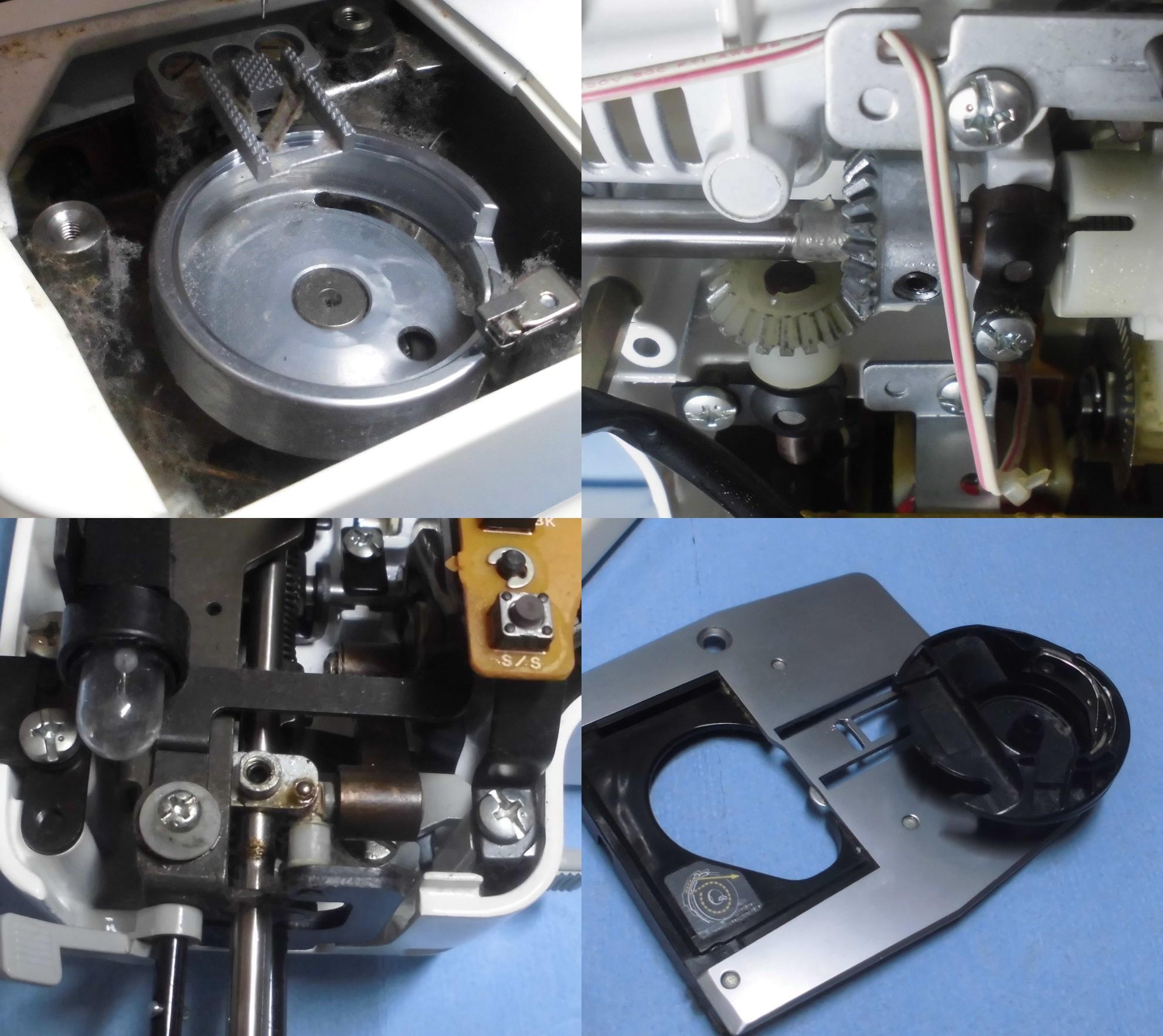 ZZ3-B121の故障や不具合|縫えない、動かない、下糸を拾わない、縫い目にならない