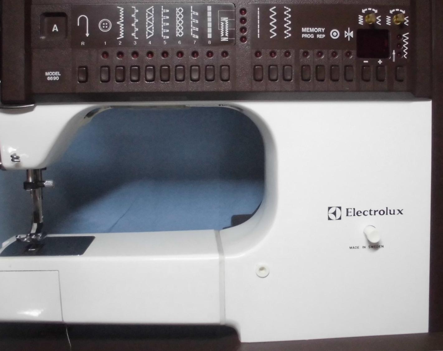 ハスクバーナミシン修理|エレクトロラックス6690|縫えない、動かない、固着