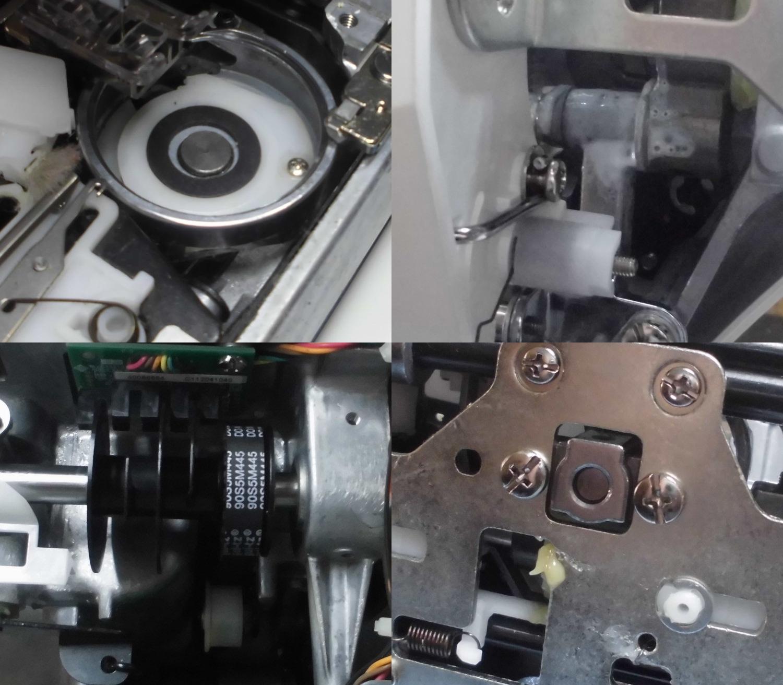 EXCEED HZL-F400JPの故障や不具合|糸切れ、部品の外れ、傷、綺麗に縫えない