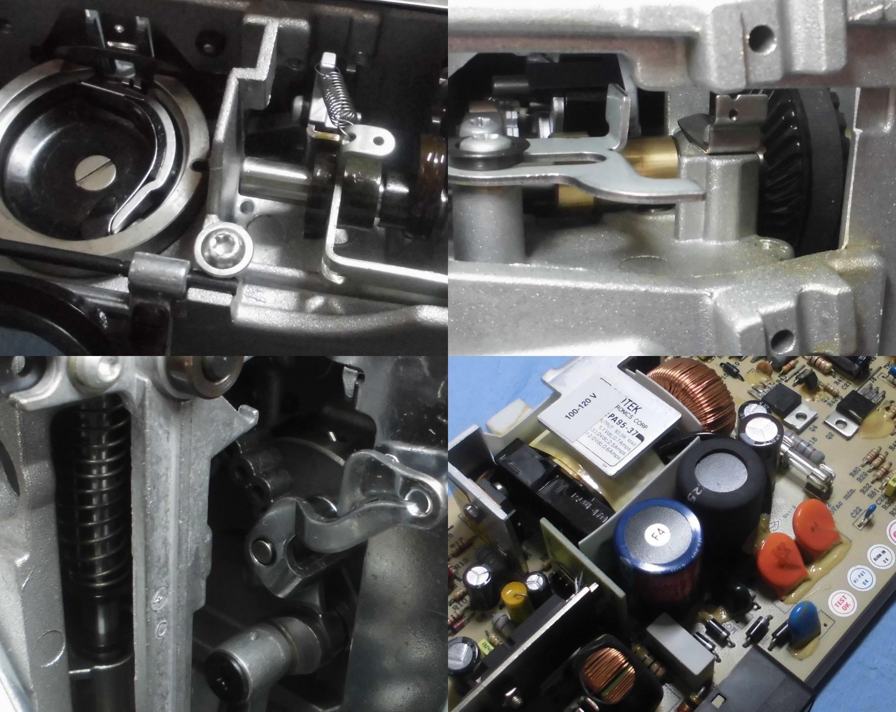 BERNINA130の全体メンテナンス修理|RICCARミシン