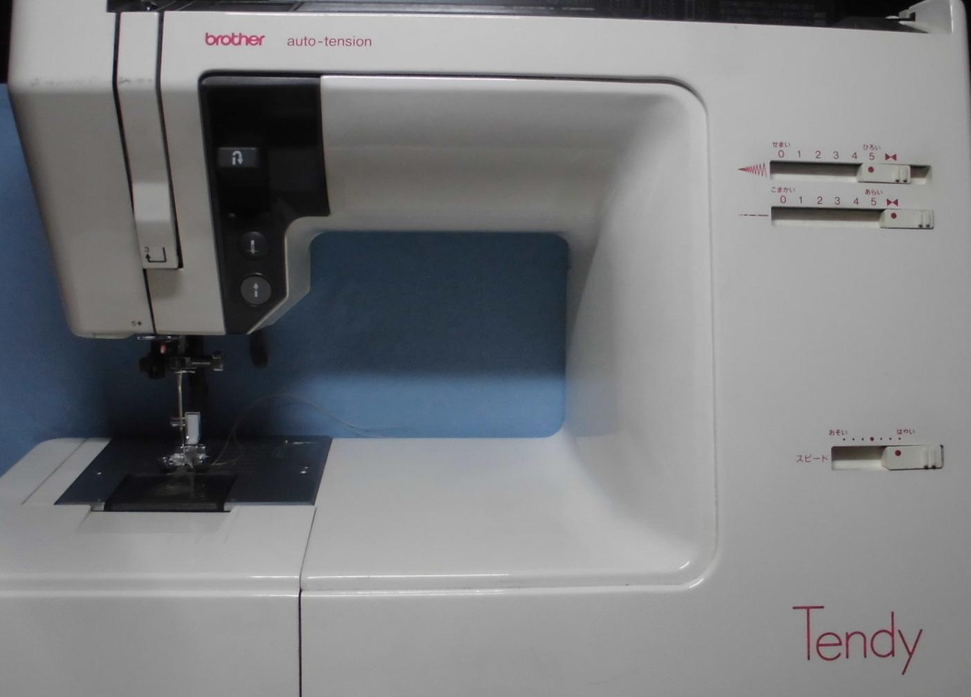 ブラザーミシン修理|テンディ|糸調子不良、異音、縫えない、下糸をすくわない