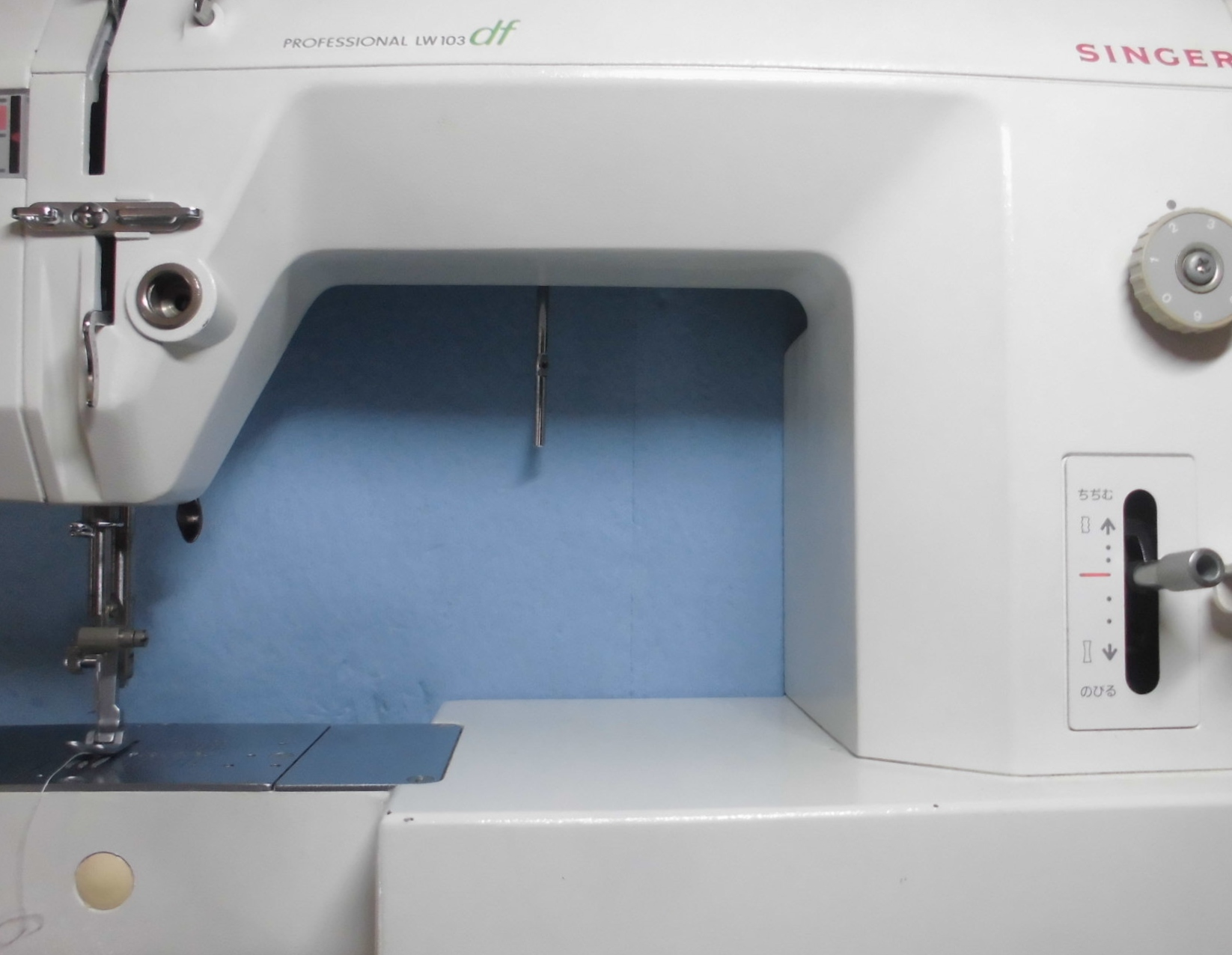シンガーミシン修理|プロフェッショナル103df|部品の破損、糸調子不良、動作不良