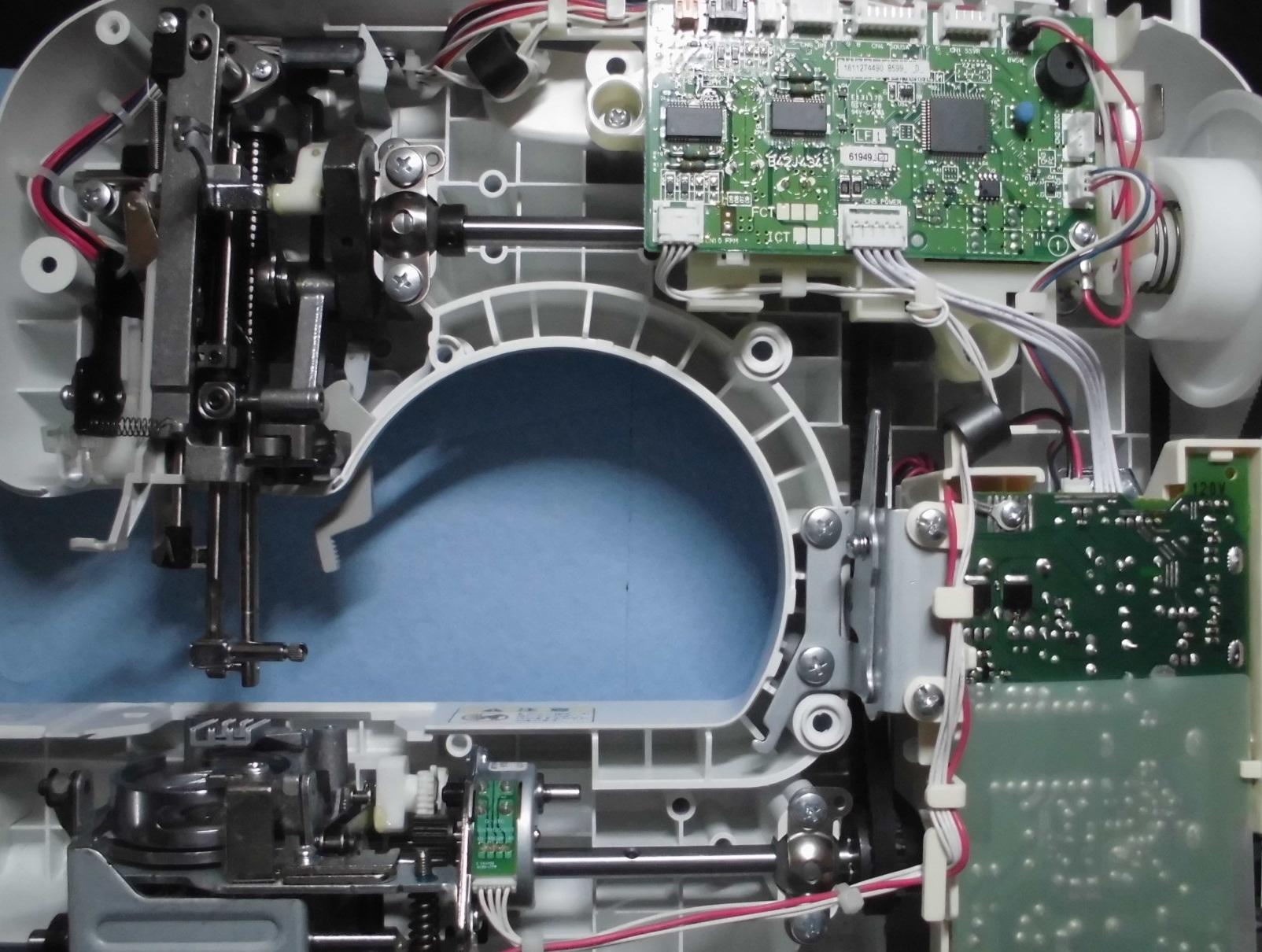 PS205の分解オーバーホールメンテナンス修理|ブラザーミシン|CPS42シリーズ