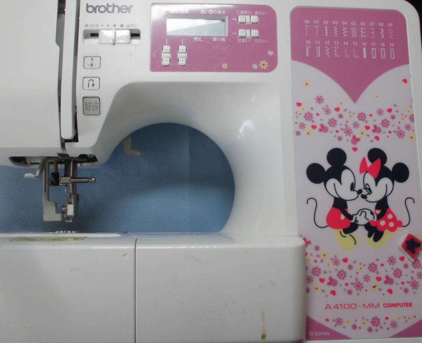 ブラザーミシン修理|CPV7403|正常に縫うことが出来ない