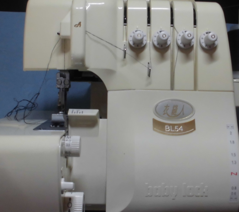 ベビーロックミシン修理|衣縫人BL54|自動糸通しで糸が通らない、動かない、縫えない