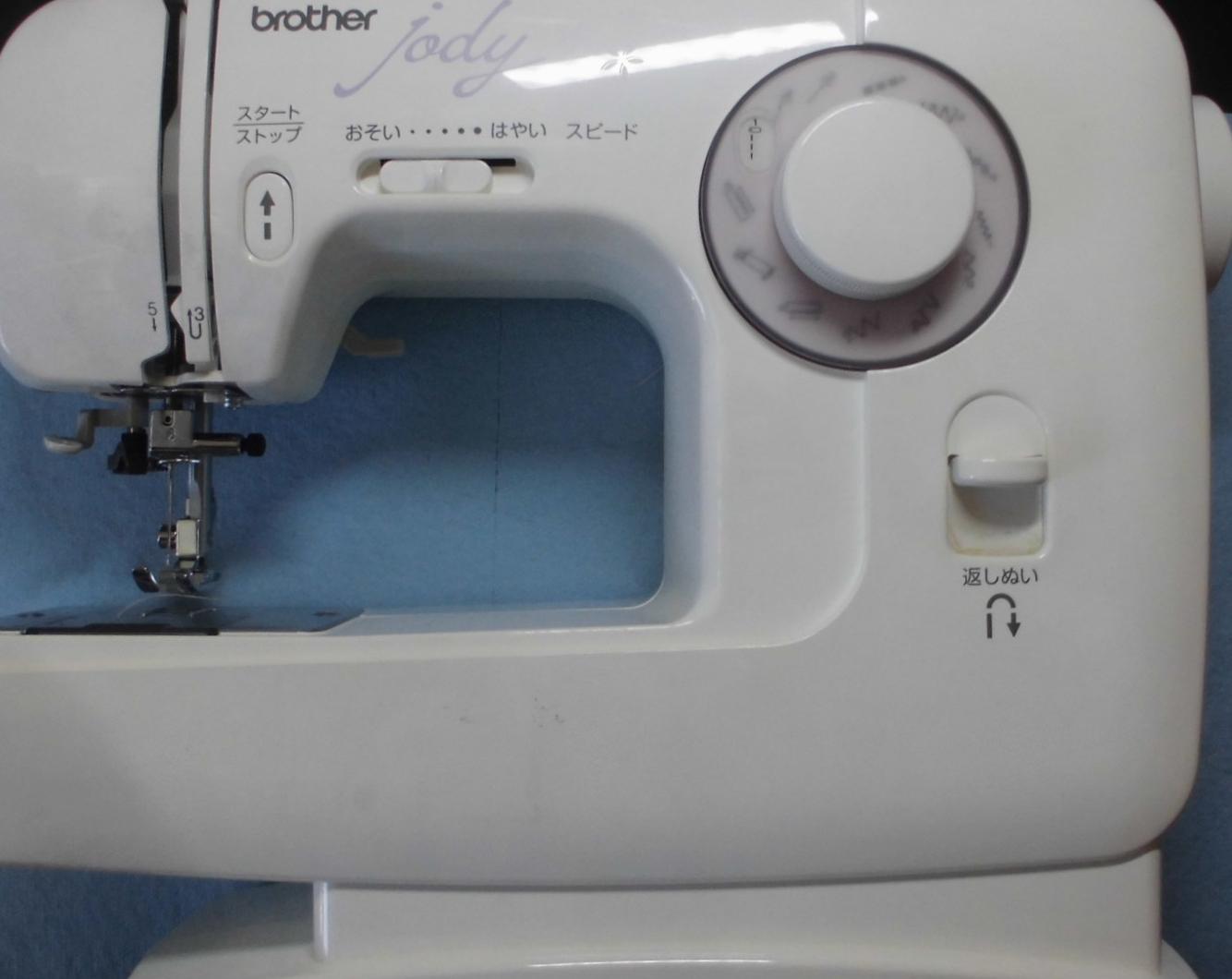 ブラザーミシン修理|JODY EL130|下糸が出てこない、縫えない、糸が絡まる、釜が回らない
