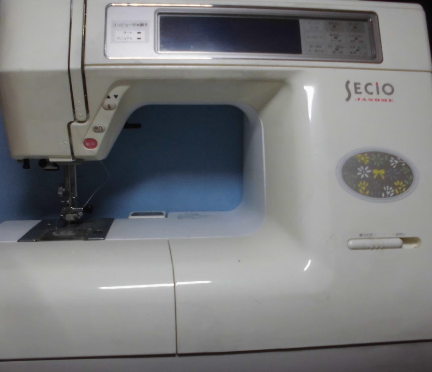 ジャノメミシン修理|セシオ8200|ステッピングモーターエラー、異音、動かない、縫えない