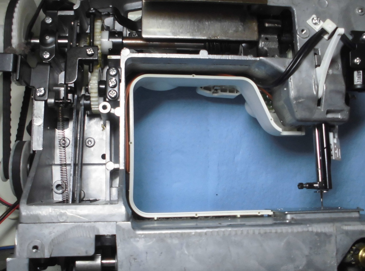 AG-003の分解オーバーホールメンテナンス修理|アックスヤマザキミシン(カタログハウス)