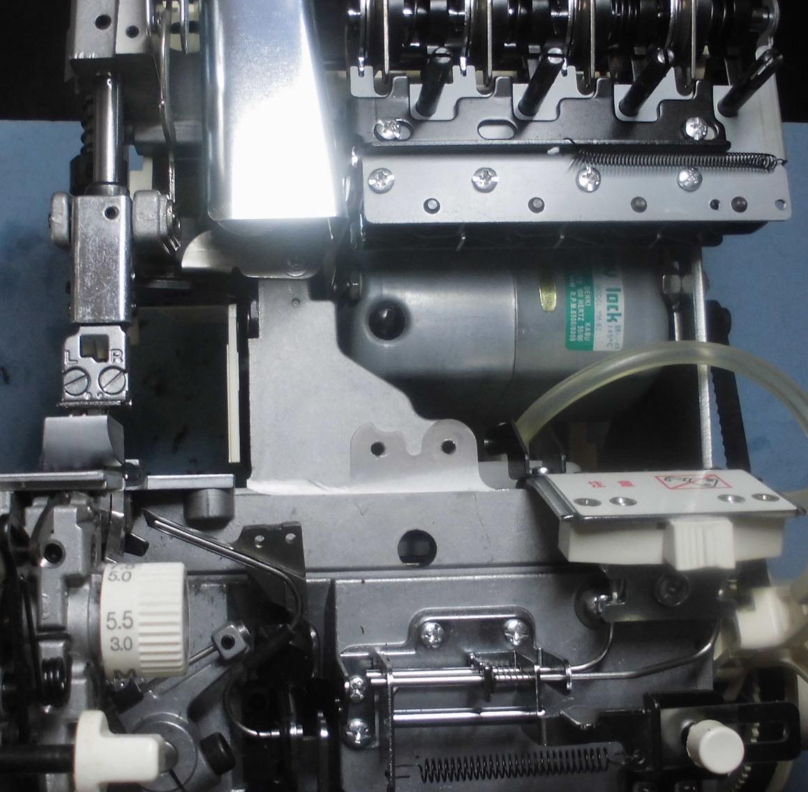BL5900の分解オーバーホールメンテナンス修理 ベビーロックミシン(衣縫人シリーズ)