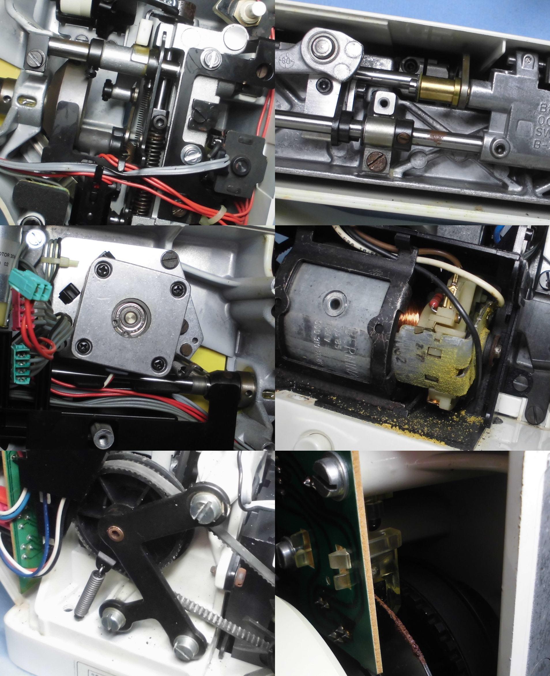 RCM1230の故障や不具合 布が前に進まない、返し縫いしない、動かない、縫えない