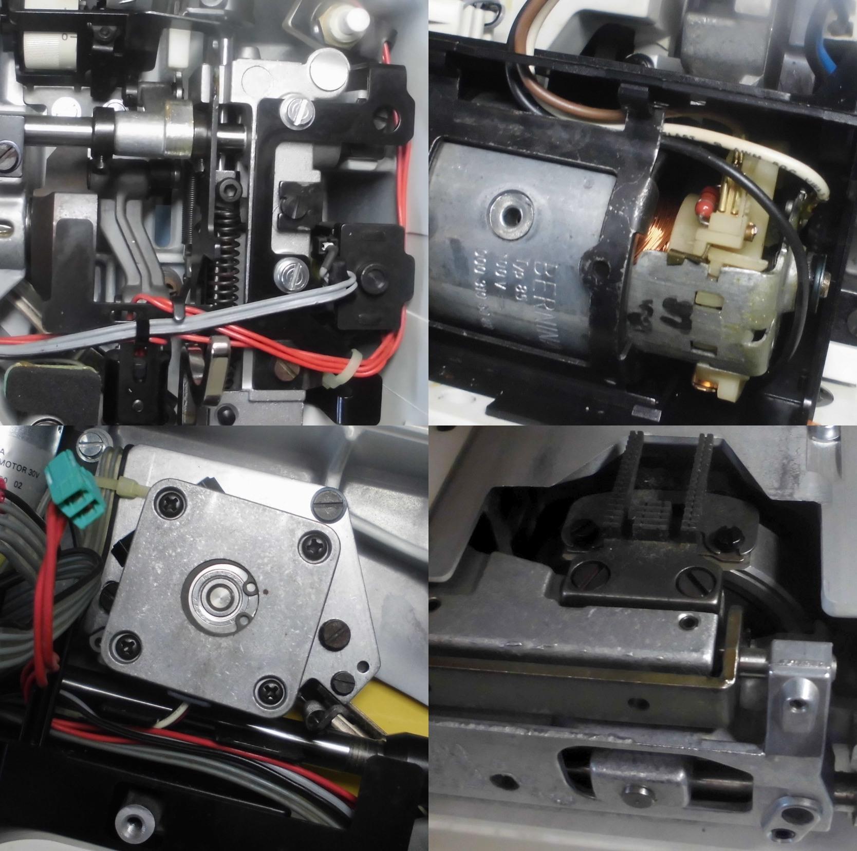 RCM1230の故障や不具合|布を送らない、異音、固着、動作不良