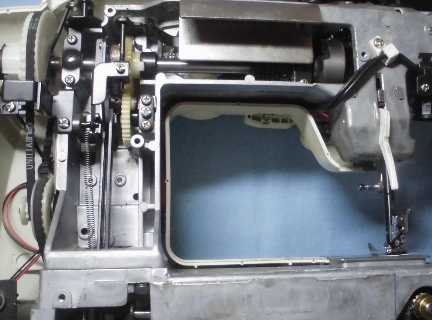 AG-002の分解オーバーホールメンテナンス修理|通販生活のミシン