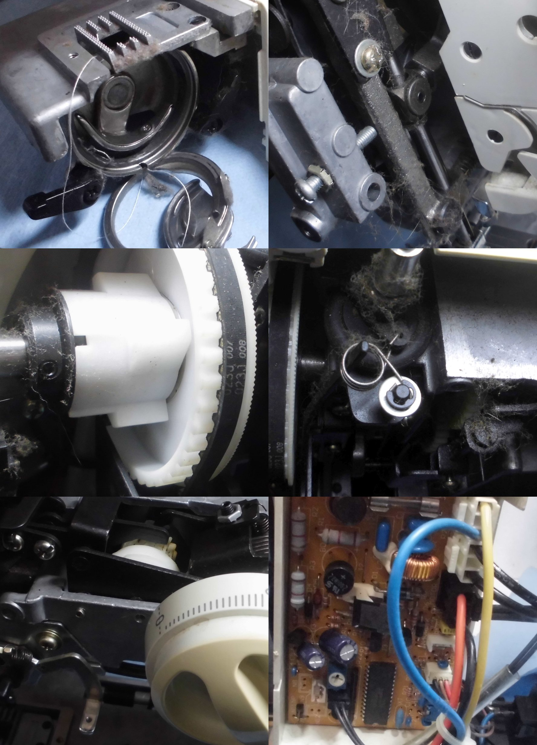 山崎範夫のミシンAG-002の故障や不具合|糸調子が悪い、異音、糸切れ、糸絡み