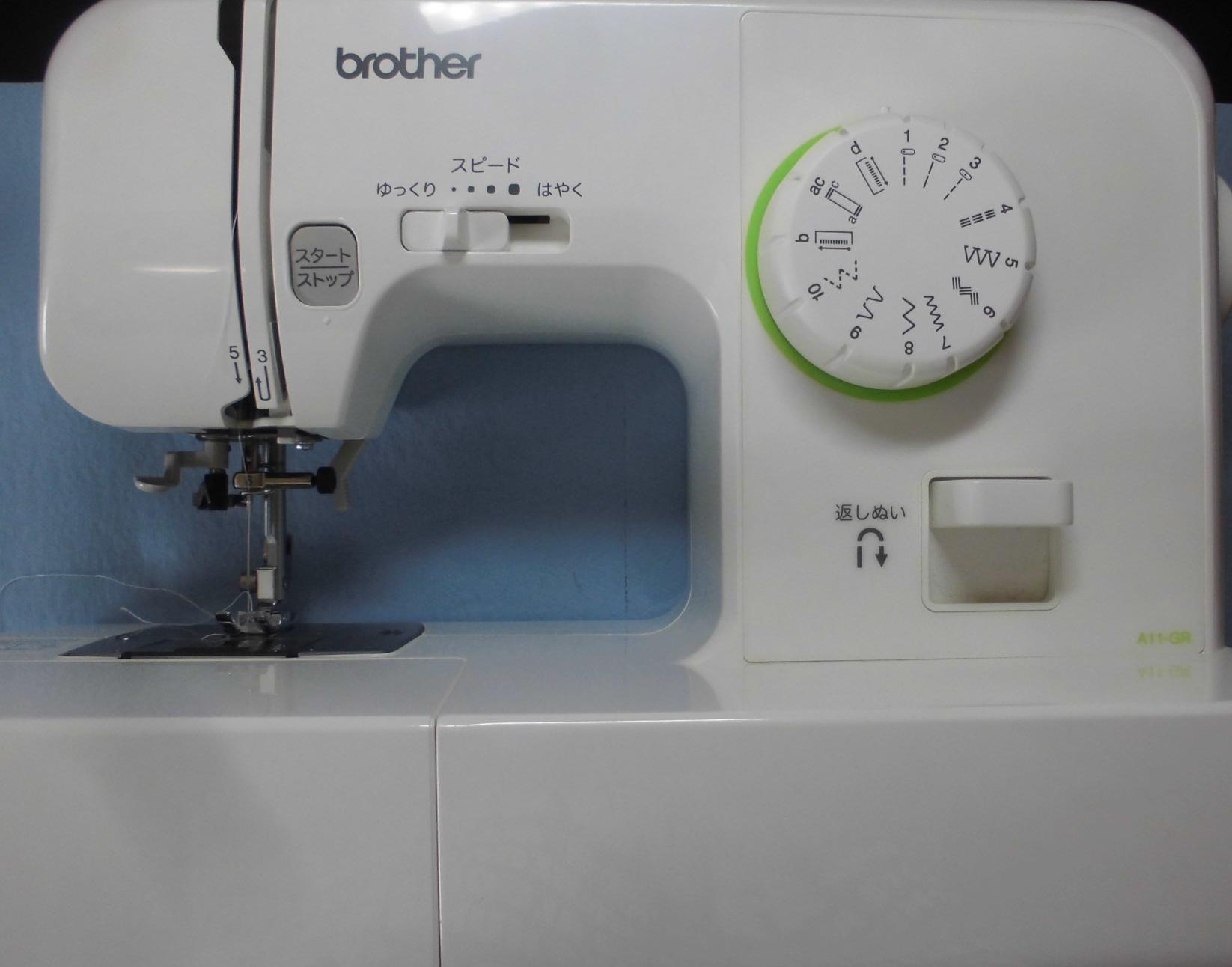 ブラザーミシン修理 EL115 縫えない、下糸をすくわない、釜が回らない