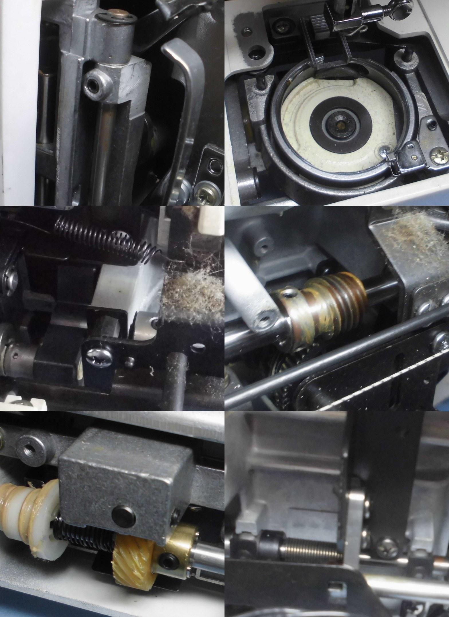 fitline6300の故障や不具合|動かない、縫えない、異音、動作不良、部品の破損