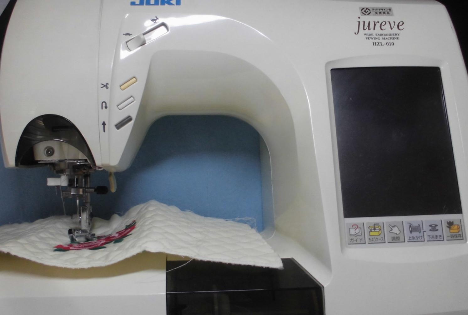 ジューキミシン修理|ジュレーブ HZL-010|スピード調節が出来ない、抵抗基板の故障
