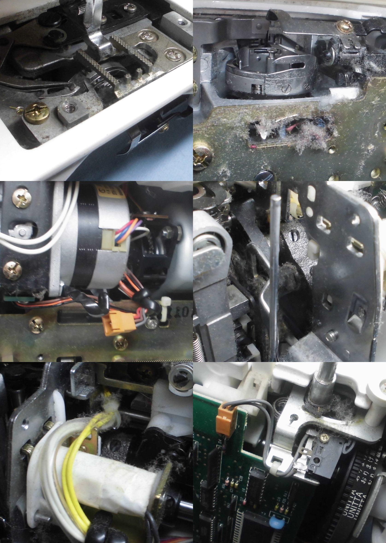 HZL-1000の故障や不具合|縫えない、糸調子が合わない、糸絡み、固着、動作不良