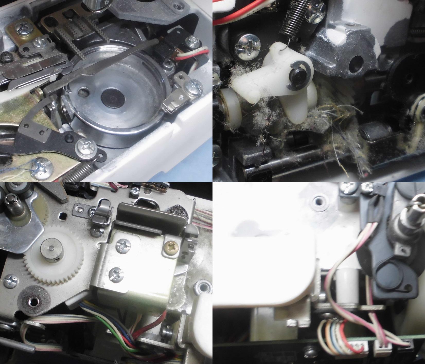 brotherミシンMimollet-Lの分解オーバーホールメンテナンス修理 ZZ3-B897