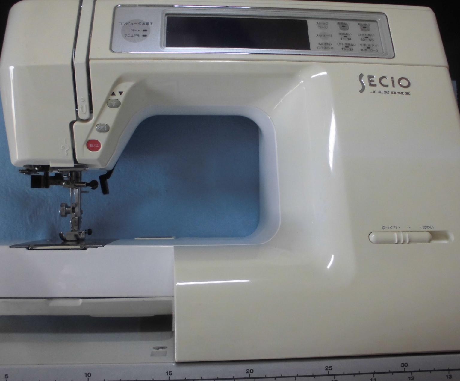 ジャノメミシン修理|セシオ8300|液晶画面が暗くなり見えない、バックライトの交換作業