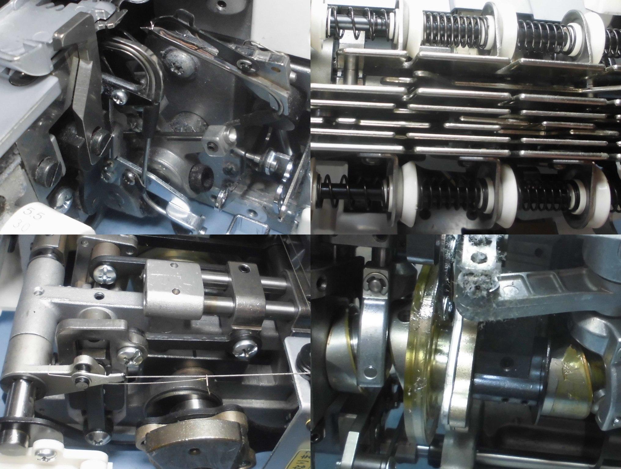 BL77WJの分解オーバーホールメンテナンス修理|ジューキベビーロックミシン(縫工房)