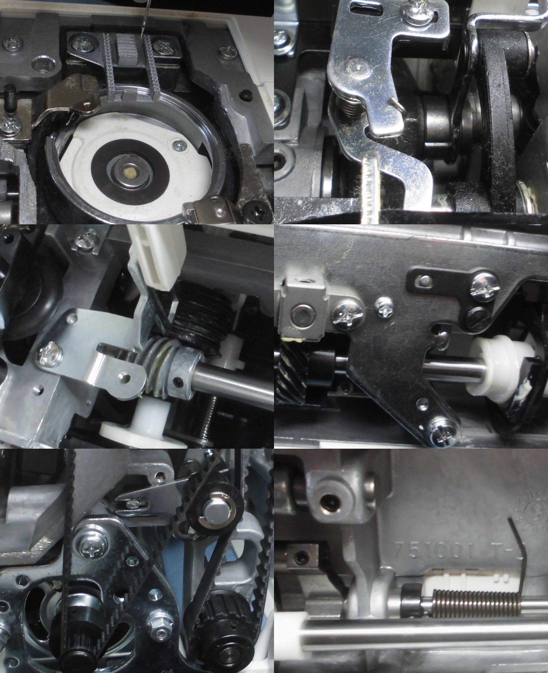 JANOME3090の全体メンテナンス修理|ジャノメミシン