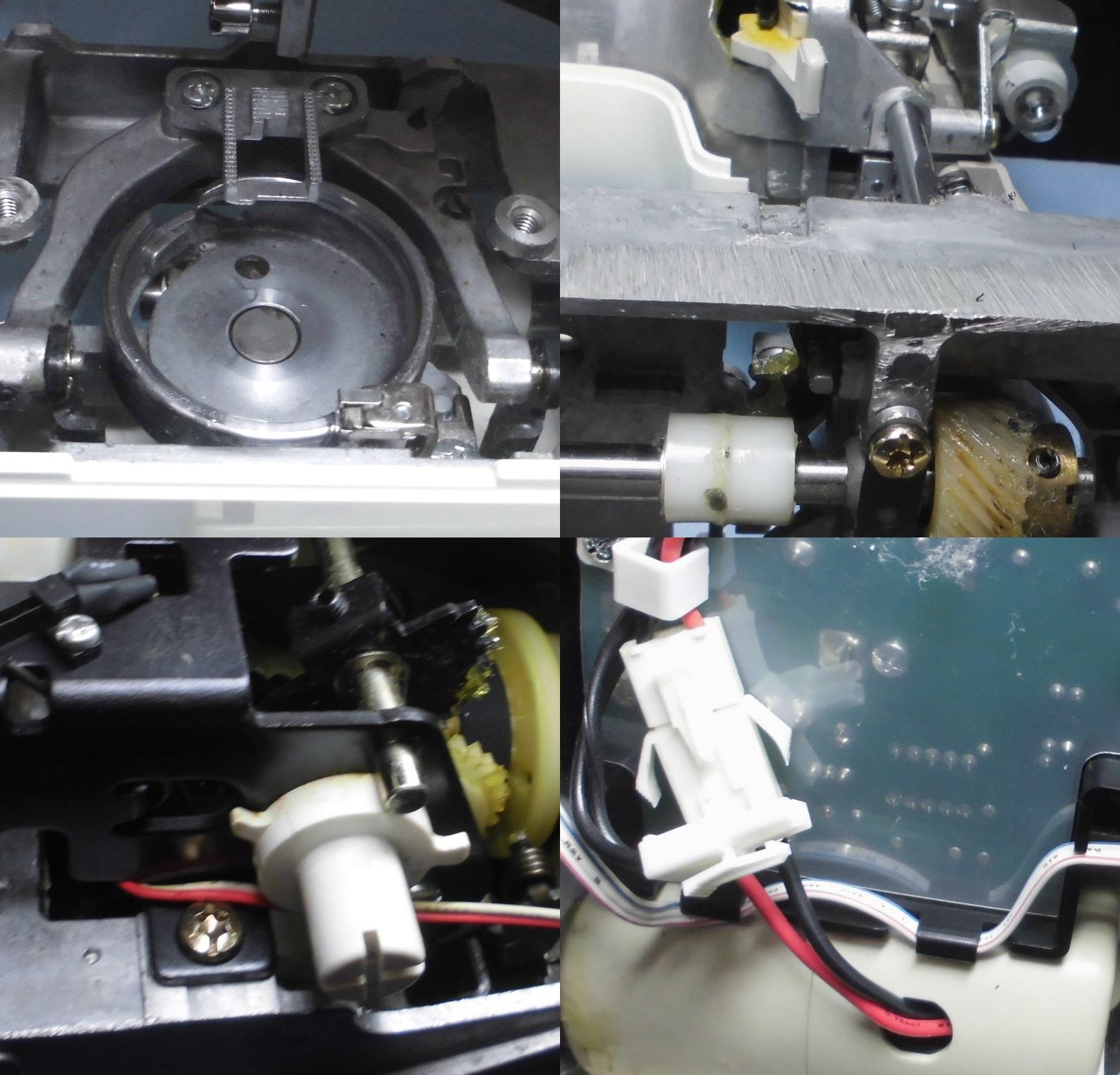 TEDDY900の分解オーバーホールメンテナンス修理 ZZ3-B544 ブラザーミシン修理