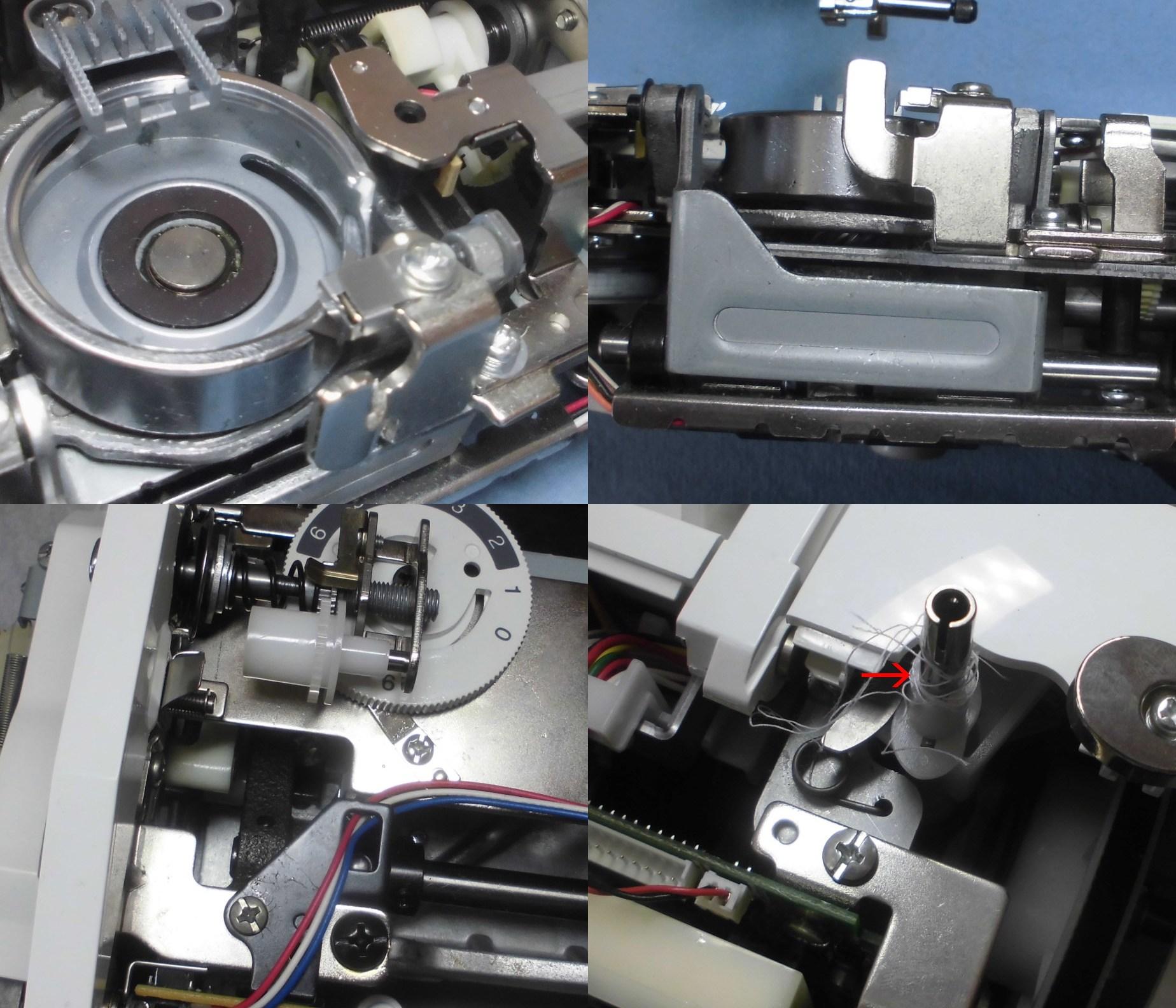 WP1200の故障や不具合|布を送らない、縫えない、糸調子不良、異音