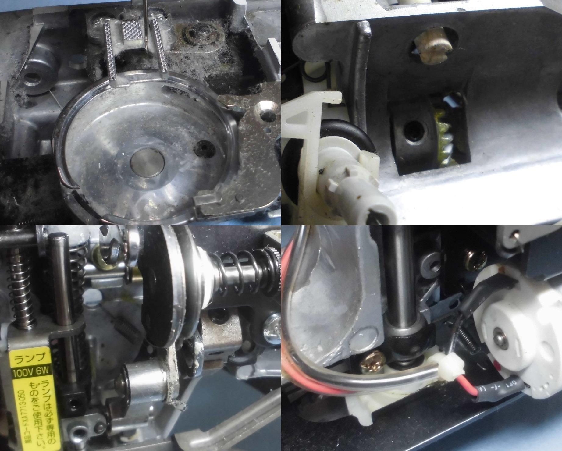 ブラザーミシンBY-100の故障や不具合|下糸を拾わない、縫えない、動かない、糸調子不良