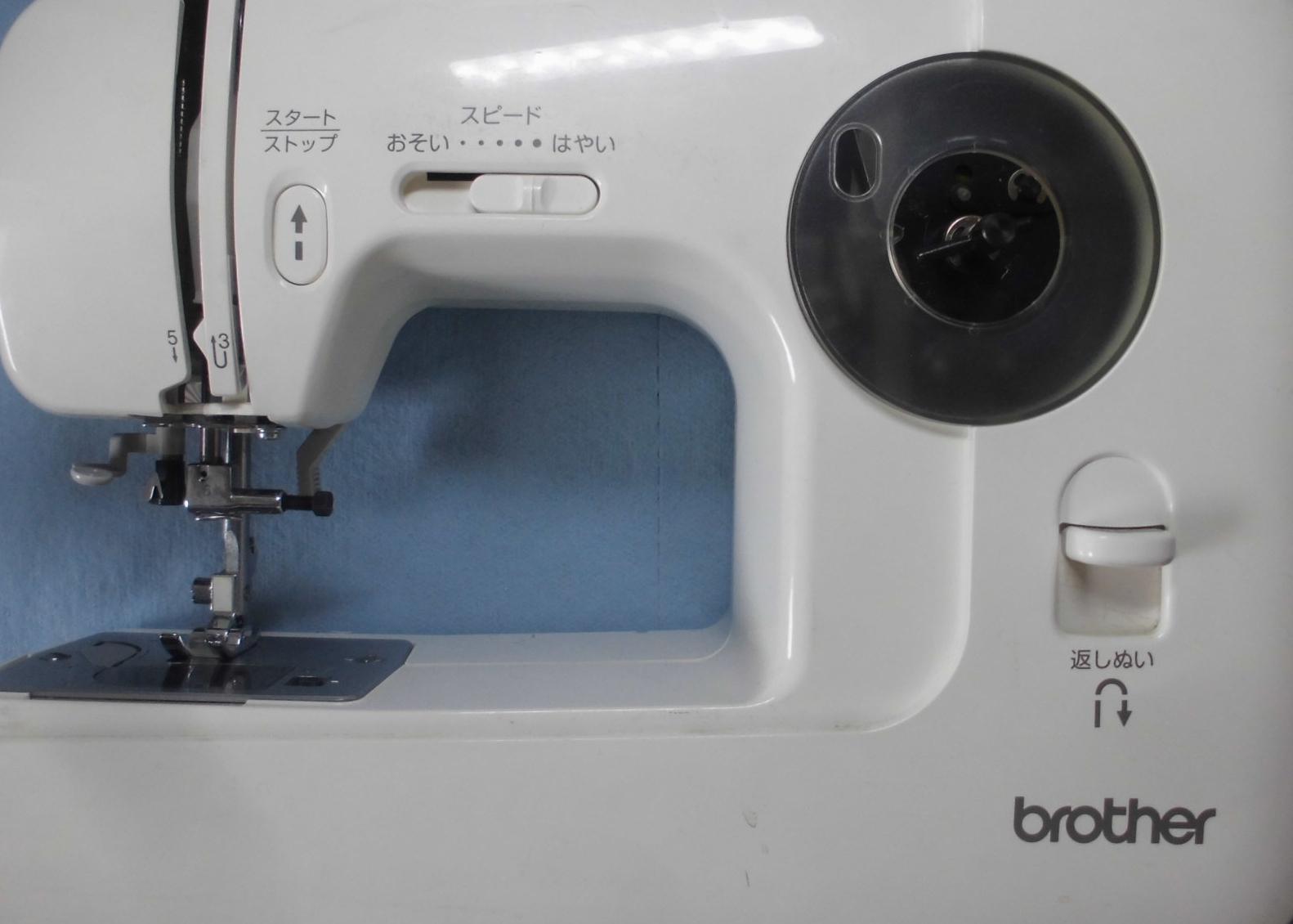 ブラザーミシン修理|EL135シリーズ|縫えない、釜が回らない、釜ずれ、タイミング不良