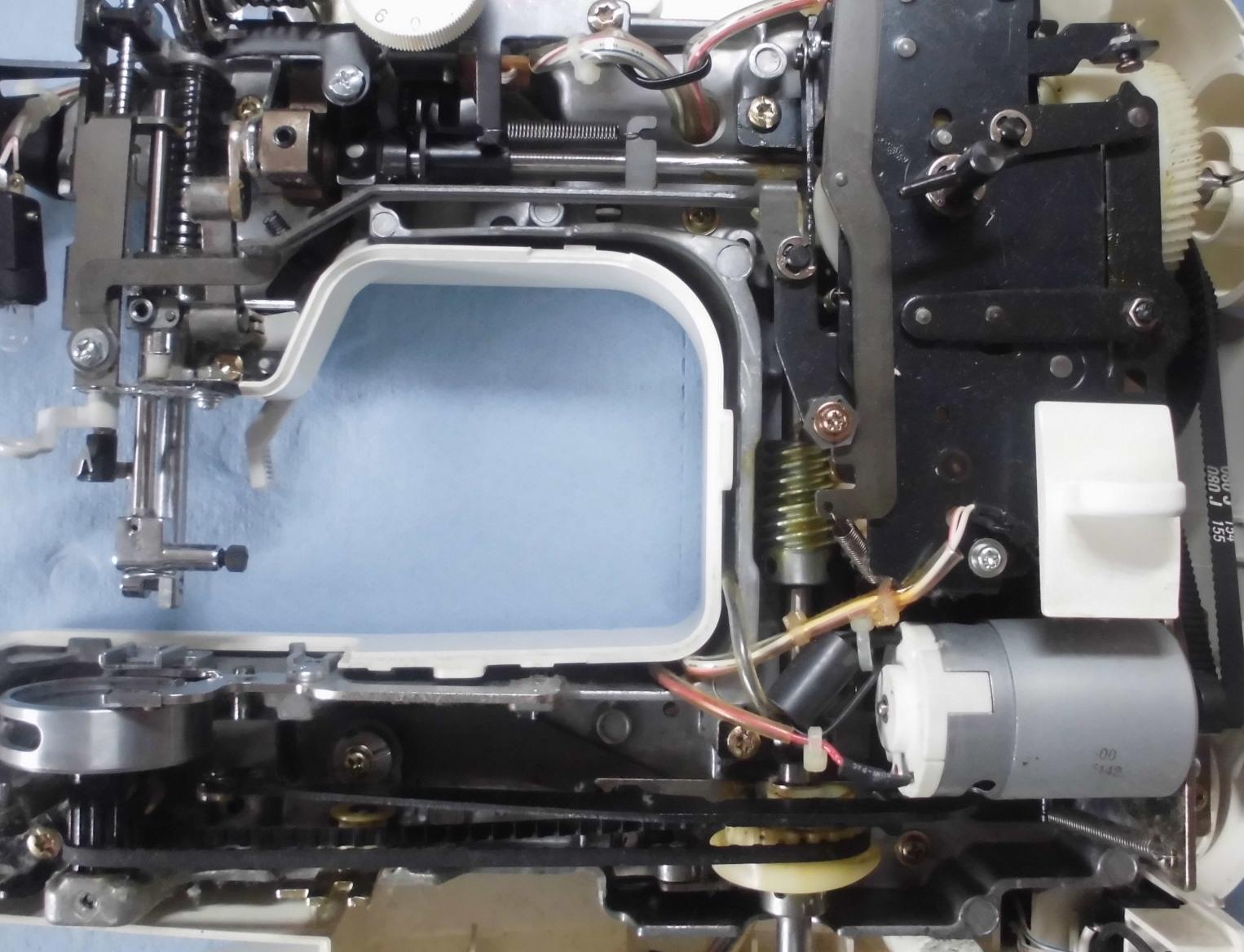 パッチワークミニ EL135の分解オーバーホールメンテナンス修理|ブラザーミシン
