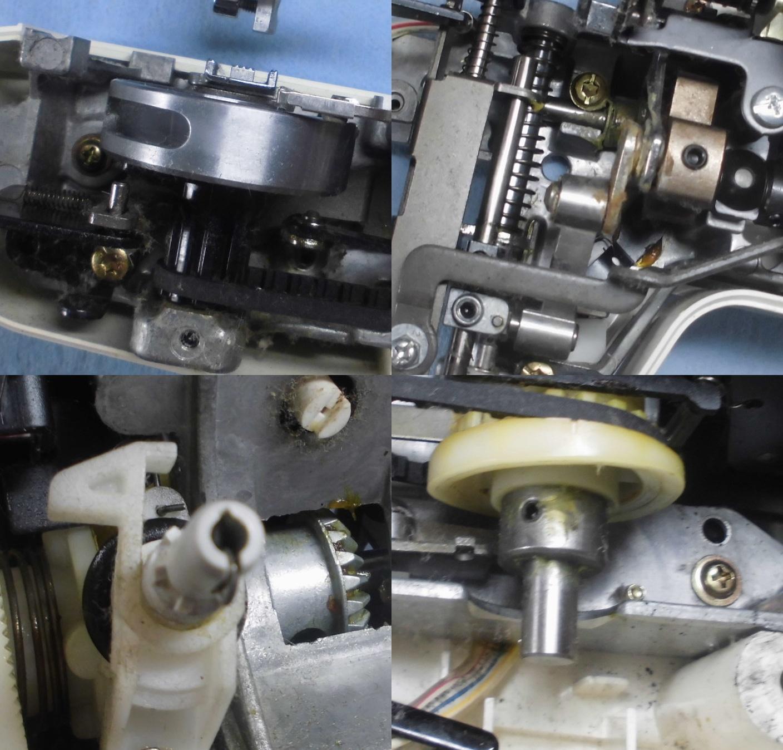 EL135の故障や不具合|下糸をすくわない、縫えない、釜が回らない、縫い目が飛ぶ
