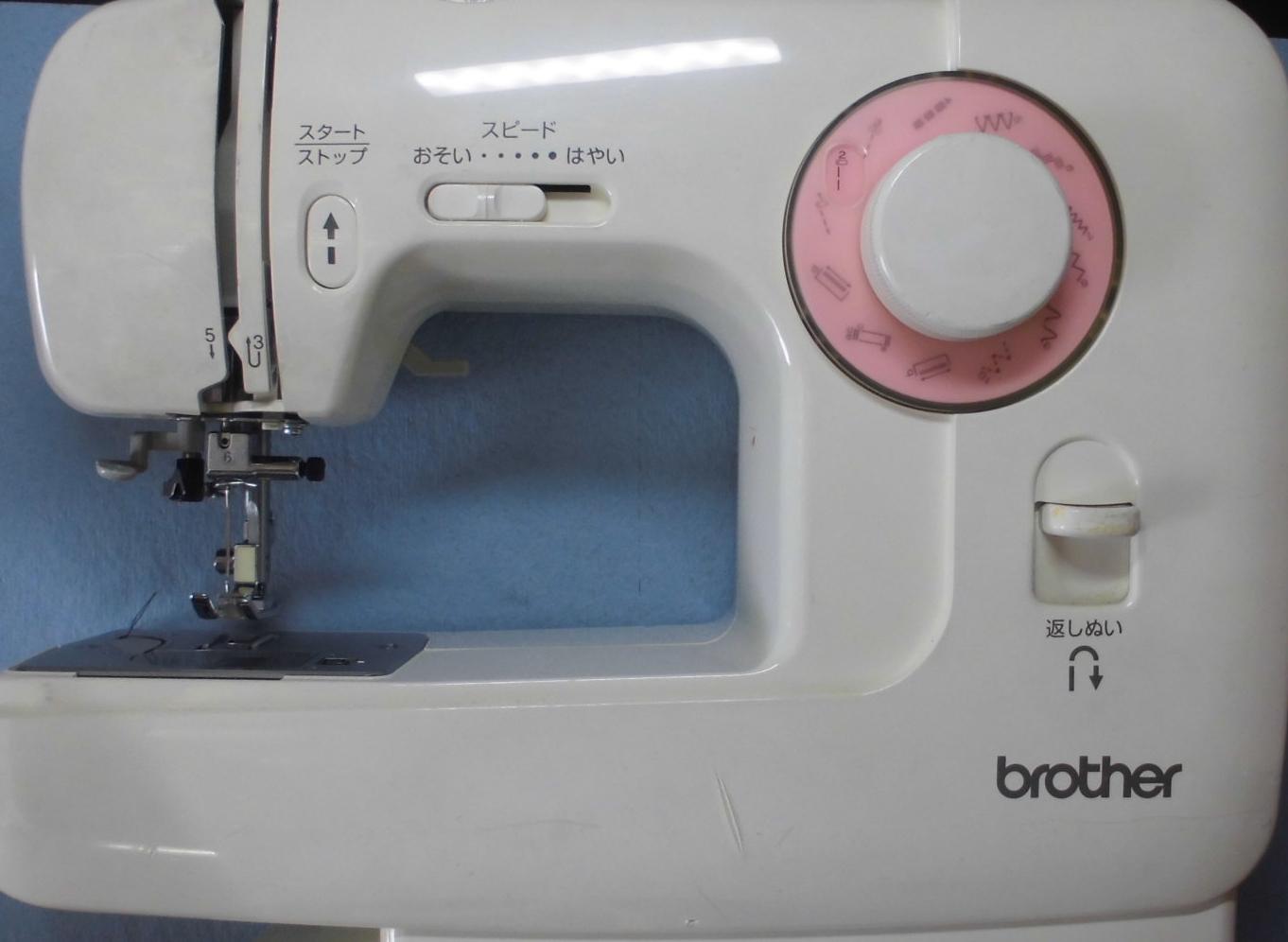 ブラザーミシン修理|EL135|シルフィ|下糸が出ない、縫えない、釜が回らない、釜ずれ