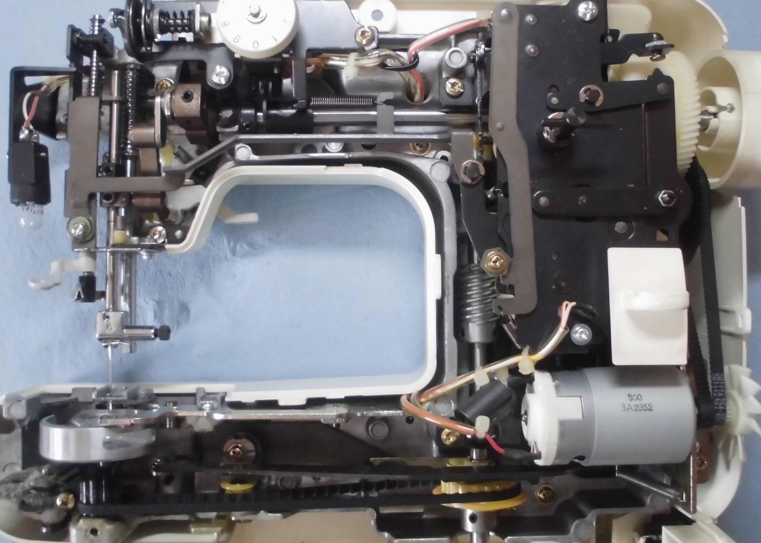 Silfy EL135の分解オーバーホールメンテナンス修理|ブラザーミシン