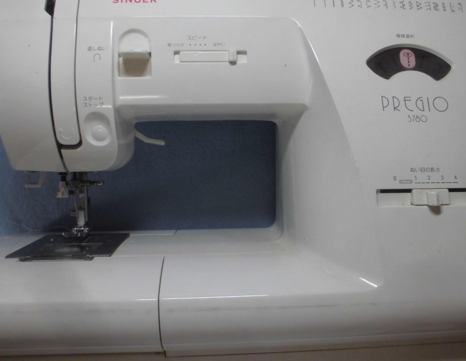 シンガーミシン修理|プレジオ5780|スタートボタンを押しても動かない、縫えない、固着
